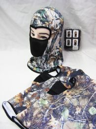 48 Units of Winter Warm Leaf Ski Mask - Unisex Ski Masks