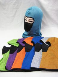 48 Units of Winter Warm Ski Mask Assorted Color - Unisex Ski Masks