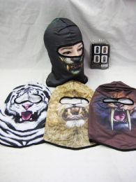 48 Units of Winter Warm Animal Face Ski Mask - Unisex Ski Masks