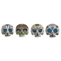96 Units of The Day Of the Dead Half Mask - Halloween & Thanksgiving