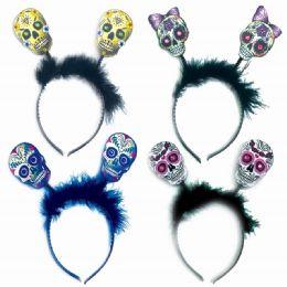 120 Units of Skull Headband - Costumes & Accessories