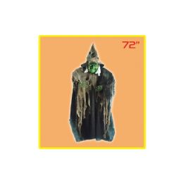 12 Units of Seventy Two Inch Hanging Witch - Costumes & Accessories