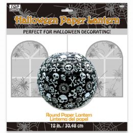 96 Units of Twelve Inch Halloween Lantern - Halloween & Thanksgiving