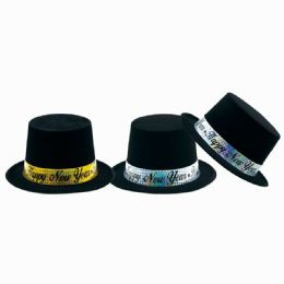 144 Units of New Year Top Hat - New Years