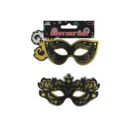 144 Units of Three Pack New Year Mask - New Years