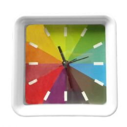 6 Units of Rainbow Design Clock - Sporting and Outdoors