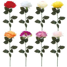 60 Units of Rose Flower In Assorted Colro - Artificial Flowers