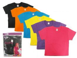 72 Units of Lady's Crew Neck Shirt - Womens Fashion Tops