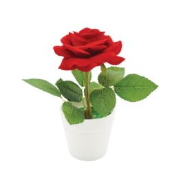 60 Units of Rose In Pot Valentines - Valentine Decorations