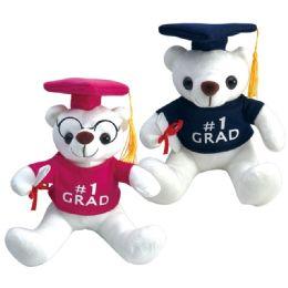 24 Units of Nine Inch Graduation Bear - Graduation
