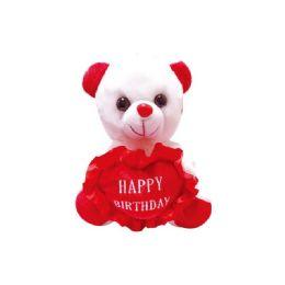 48 Units of Eight Inch Happy Birthday Bear - Plush Toys
