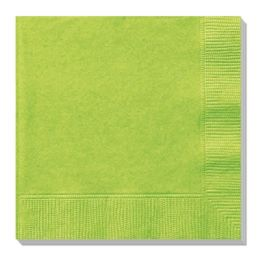 144 Units of Luncheon Napkin Lime - Party Paper Goods