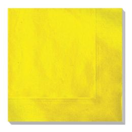 144 Units of Luncheon Napkin Gold Twenty Count - Party Paper Goods