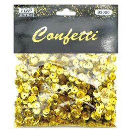 144 Units of Sequins Gold - Craft Glue & Glitter