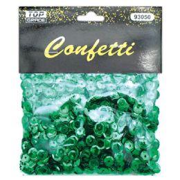 144 Units of Sequins Green - Craft Glue & Glitter