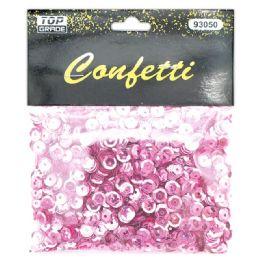 144 Units of Sequins Pink - Craft Glue & Glitter