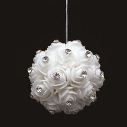 60 Units of Foam Flower With Diamond - Wedding & Anniversary
