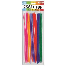 144 Units of Thirty Count Chenille Stems - Craft Stems