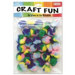 144 Units of Twelve Count Pom Pom - Craft Stems