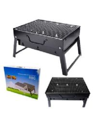 3 Units of PORTABLE GRILL BLACK SMALL - BBQ supplies