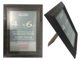 24 Units of Brown Desinger Trend Photo Frame 4x6 - Frame
