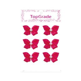 144 Units of Satin Bow Rose Red - Arts & Crafts