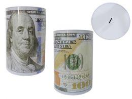 24 Units of Jumbo U.s. Dollar Tin Saving Bank - Coin Holders & Banks