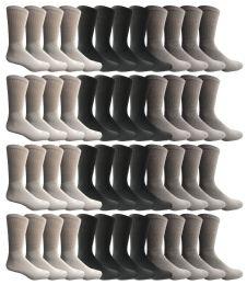 1800 Units of Yacht & Smith Kids Sports Crew Socks, Wholesale Bulk Pack Athletic Sock Size 6-8 - Mens Crew Socks