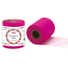 48 Units of Table Skirt In Hot Pink - Sewing Supplies