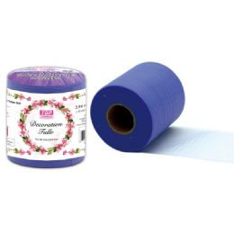 48 Units of Table Skirt In Purple - Sewing Supplies