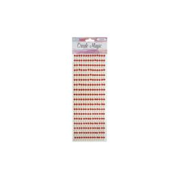 168 Units of Rhinestone Stickers Red - Stickers