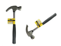 48 Units of 12 oz Straight Rip Hammer with Smooth Face & Shock Reduction Grip - Hammers