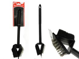 72 Units of 3-In-1 BBQ Grill Brush - BBQ supplies