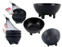 48 Units of 3 Pcs Salsa Bowls - Plastic Bowls and Plates