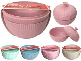 48 Units of Candy & Storage Jar - Plastic Serving Ware
