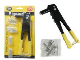 24 Units of Riveter + 36 Rivets - Screwdrivers and Sets