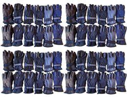 48 Units of Yacht & Smith Men's Fleece Gloves - Winter Gloves