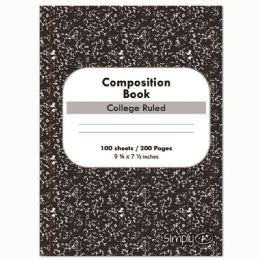 96 Units of One Hundred Count Composition Book College Ruled - Notebooks
