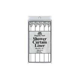 48 Units of Shower Curtain Clear - Bathroom Accessories
