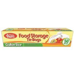 96 Units of Gallon Size Food Bag - Food Storage Containers