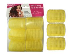 48 Units of 6pc Cling Hair Rollers - Garden Planters and Pots