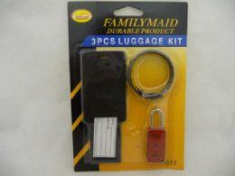 144 Units of Lock Combination + Luggage Tag - Padlocks and Combination Locks