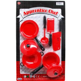 72 Units of APPRENTICE CHEF COOKING SET - Girls Toys