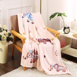 24 Units of Boho Elephant Printed Blankets Size 50 x 60 - Fleece & Sherpa Blankets