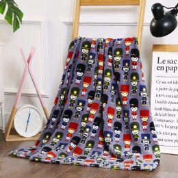 24 Units of Nutcrackers Printed Fleece Blankets Size 50 x 60 - Fleece & Sherpa Blankets