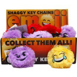 144 Units of Emoji Key Chains - Key Chains