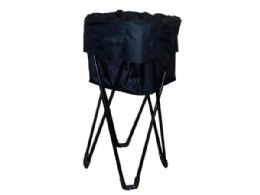 3 Units of Collapsible Party Cooler with Stand & Carrying Case - Cooler & Lunch Bags