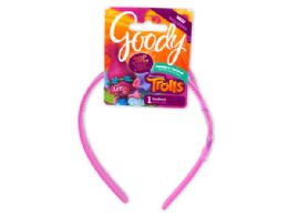 144 Units of Goody Trolls Color Changing Headband - Headbands