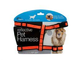 12 Units of Medium Reflective Dog Harness - Pet Accessories