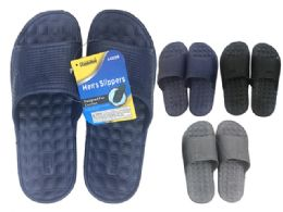 48 Units of Men's EVA Slippers, Size 7-12 - Men's Slippers
